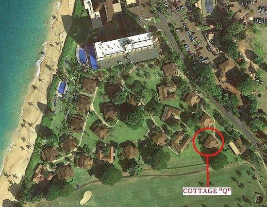 Royal Lahaina Resort: Cottage Q on map