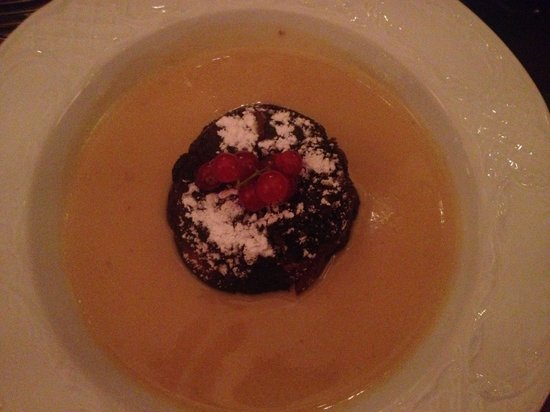 The Arden Arms: Xmas meal. Dessert. Xmas pud