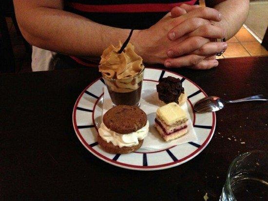 Chez kako : Cafe gourmand