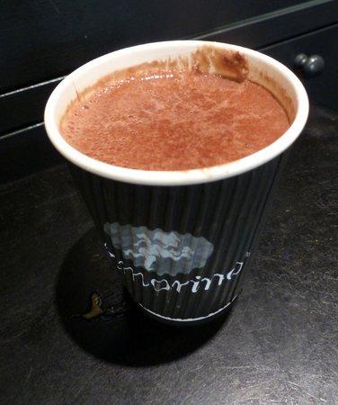 Amorino - hot chocolate