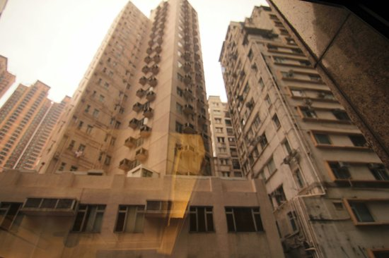 Mini Hotel Causeway Bay Hong Kong: View from 2nd floor