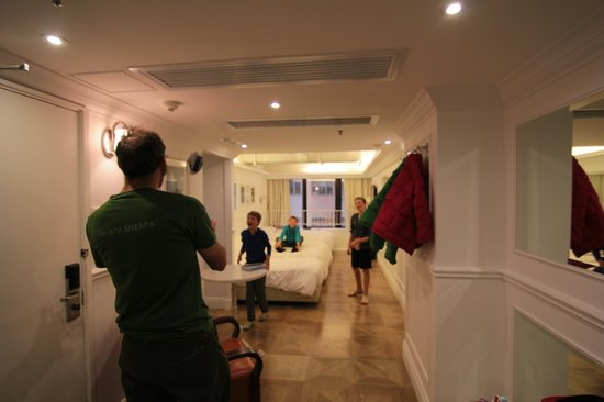 Mini Hotel Causeway Bay Hong Kong: Even room for a game of football.