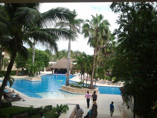 Dreams Puerto Aventuras Resort & Spa: The pool