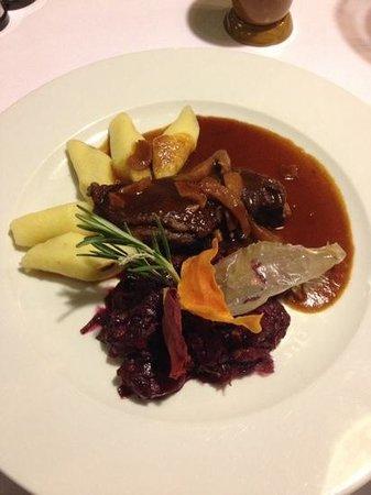 Wierzynek Restaurant: main of the all goose menu