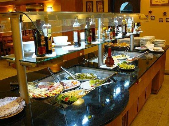 Nadai Confort Hotel & SPA: Ensaladas
