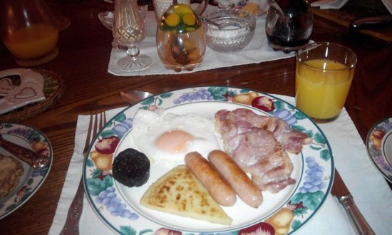 Failte B&B: Irish Breakfast