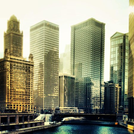 Fairmont Chicago Millennium Park: On a walk near hotel