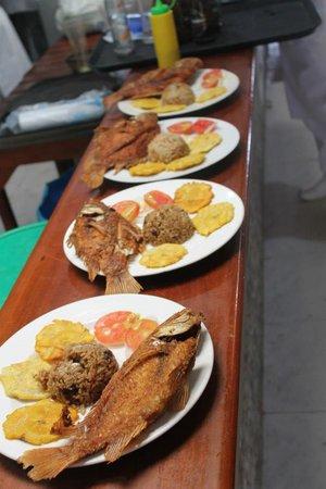 El Gran Chef Marino : Fried Fish