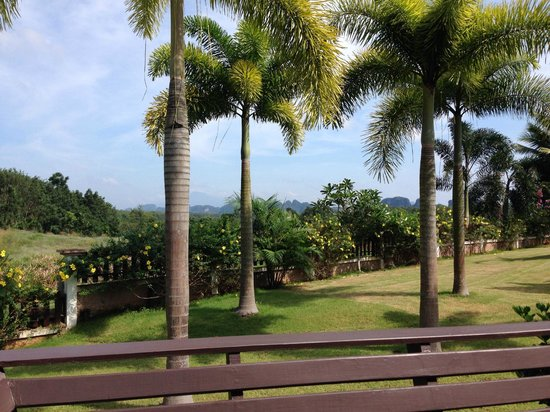 Leelawadee Garden Resort: great views, could sit there all day