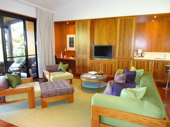 Qualia Resort : living area