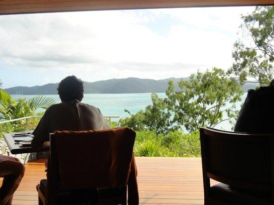 Qualia Resort: view from breakfast.. bliss