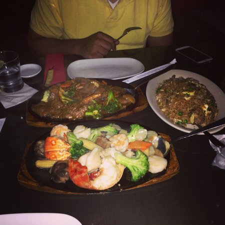 Silk : Amazing simply amazing excellent food ! The waiter was a charm one very attentive recommended th