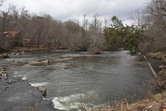 Hiwassee River Cabins : River view