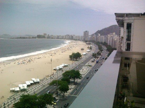 Hotel Astoria Palace: Vista da praia de Copacabana