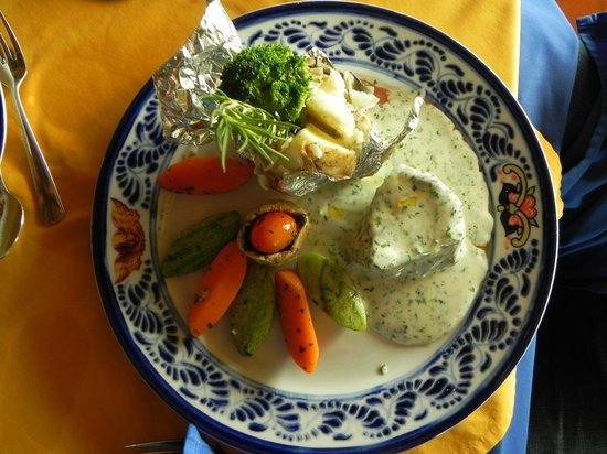 Hotel Cuna del Angel: Gluten Free Restaurant