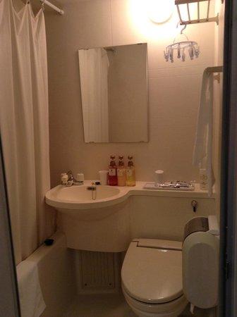 Dormy Inn Hiroshima: バスルーム