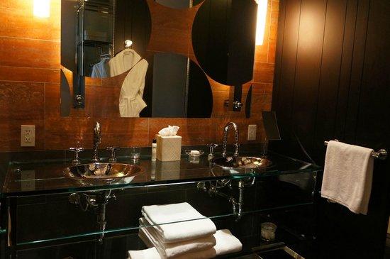 Andaz 5th Avenue: 浴室