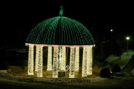 The Greenbrier: Lovely lights