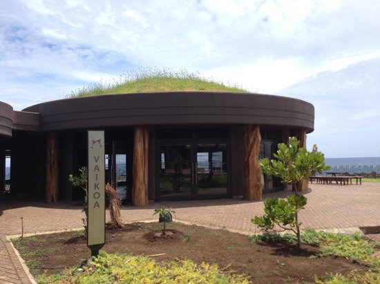 Hotel Hangaroa Eco Village & Spa: Cottages have grass roofs