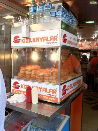 Kizilkayalar: Soggy burger of Istanbul