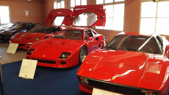 Good Fox Classic Car Collection: Ferrari At Fox Classic Car Museum Design Inspirations