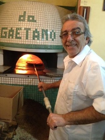 Pizzeria da Gaetano: the Master
