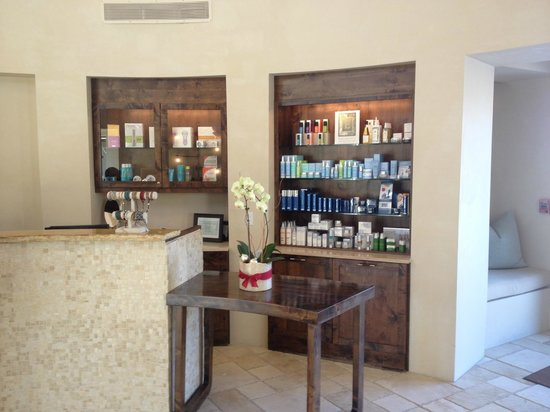 Four Seasons Resort Rancho Encantado Santa Fe: Spa Reception Area