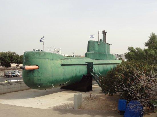 Clandestine Immigration and Naval Museum: Israeli Sub
