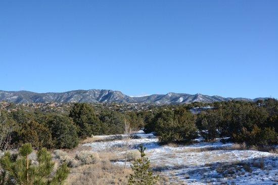 Four Seasons Resort Rancho Encantado Santa Fe: View from Front Door Looking North/Northeast