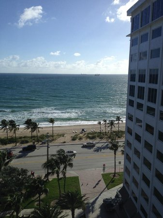 Sonesta Fort Lauderdale Beach: View from room 1015 looking toward the hotel