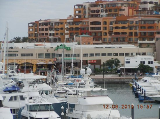 Tesoro Los Cabos: Residential areas overlooking the Marina