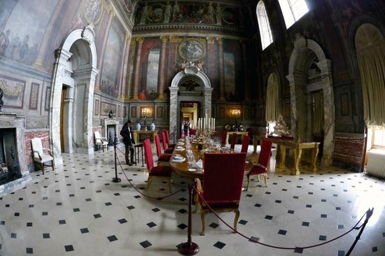 blenheim palace - state dining room - picture of blenheim palace