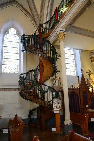 Loretto Chapel : Interior - Staircase
