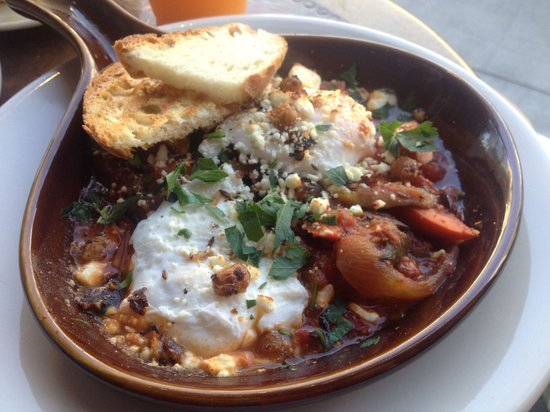 The Grove: Moroccan baked eggs