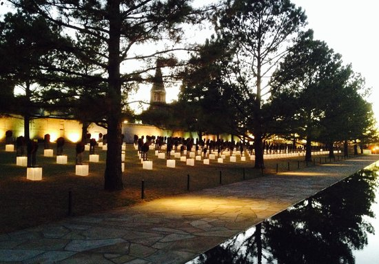 Oklahoma City National Memorial & Museum: Some of the 168
