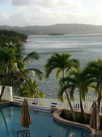 Windjammer Landing Villa Beach Resort: view from our deck