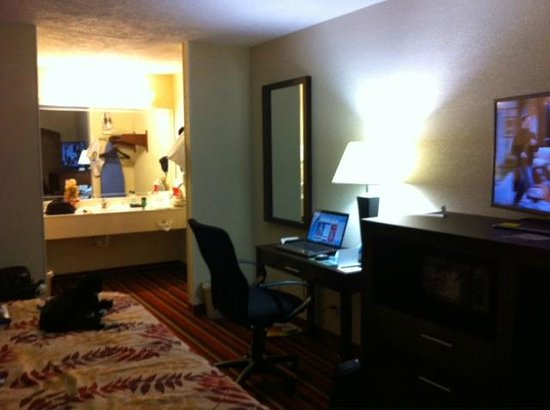 Days Inn & Suites Winnie : The room