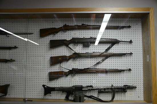 New Mexico National Guard Museum: World War II Guns