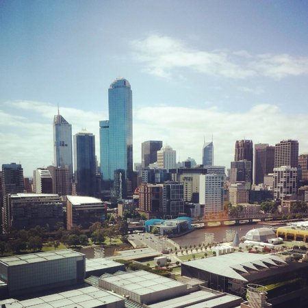 Crown Metropol Melbourne: View from Room