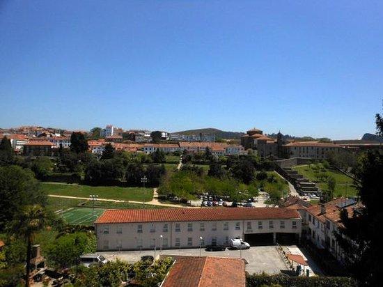 Hotel Virxe da Cerca: 部屋からの眺めです。とても美しい風景でした。