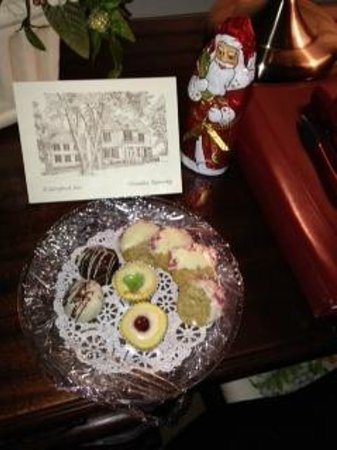 A Storybook Inn: Such a sweet personalized gesture.