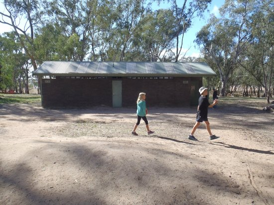 Mount Arapiles: Toilet block. No other facilities here.