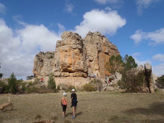 Mount Arapiles: Declaration Crag also known as Dec Crag