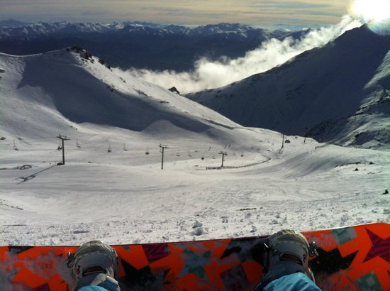 The Remarkables Ski Area: View from top of Remarkables ski area