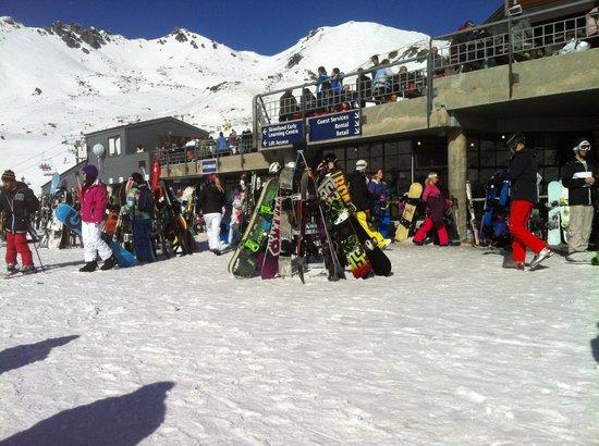 The Remarkables Ski Area: Remarkables ski area