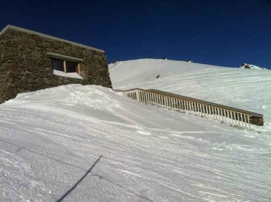 The Remarkables Ski Area: 'the stash' Remarkables ski area