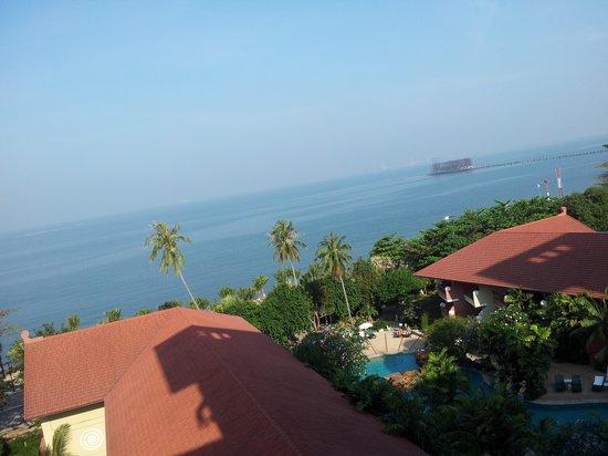 Bella Villa Cabana: Seaview from room balcony