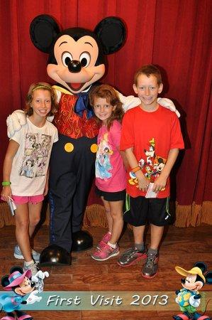 Disney's Art of Animation Resort: We met Mickey Mouse!!!!