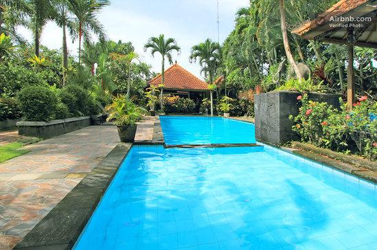 Dewa Bharata Ubud : Pool with Garden