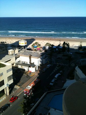 Beachcomber Resort Surfers Paradise: View from 1404